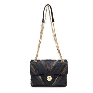 Gold Chain Detail Crossbody