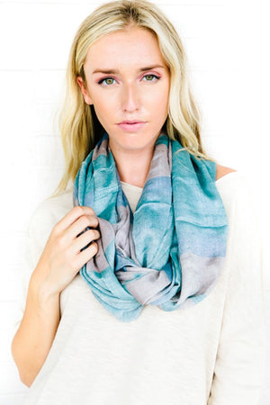 Cape Cottage Infinity Scarf