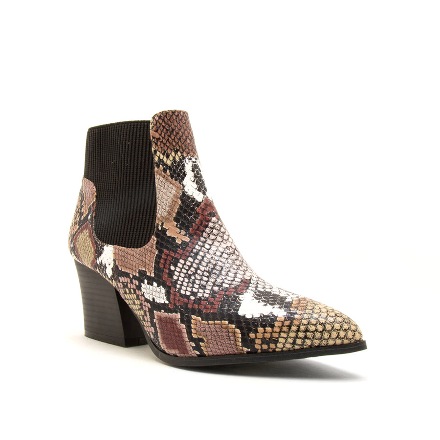 Nava Multi Snake Booties