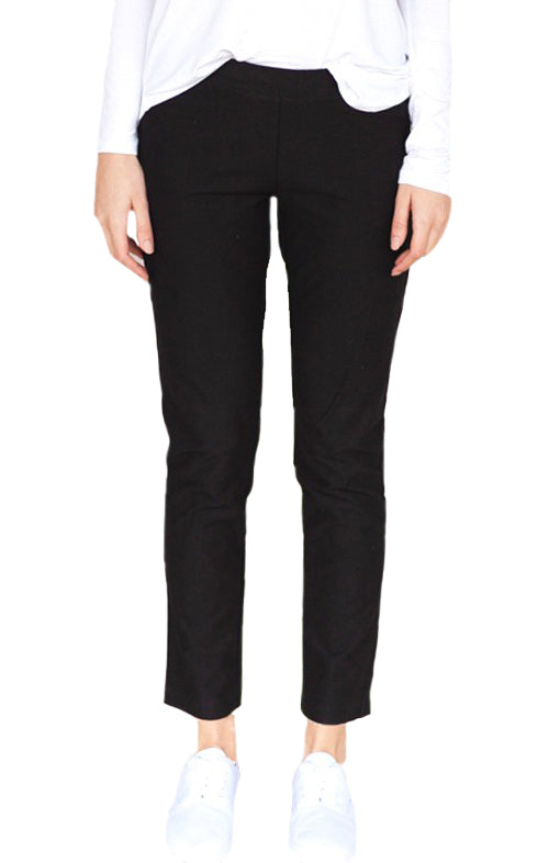 Casual Straight Leg Stretch Pant