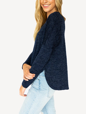 Soft Knit Vneck Sweater