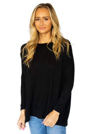 Oversize Scoop Neck Sweater
