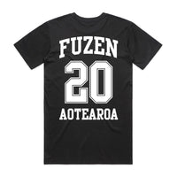 Fuzen 20 Men's Tee Black/White