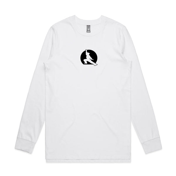 Fuzen 20 Mens Long Sleeve White/Black