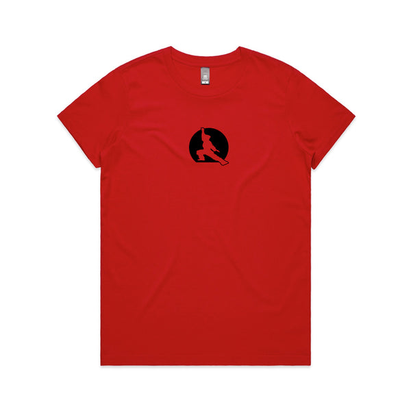Fuzen 20 Womens Tee Red/Black