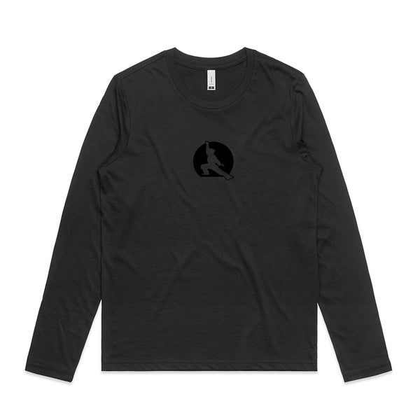Fuzen 20 Womens Long Sleeve Black/Black