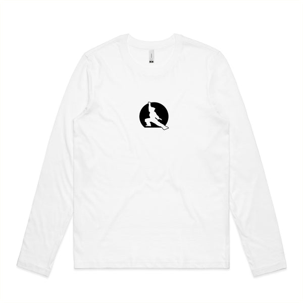 Fuzen 20 Womens Long Sleeve White/Black