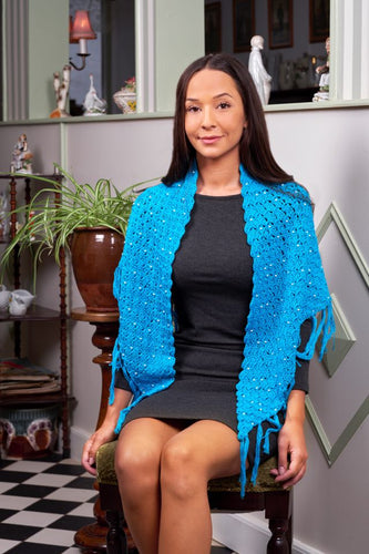 Zulu Shawl Crochet Kit - DesignEtte