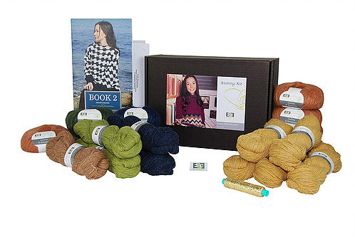 Pondo Mill Knitting Kit (Shetland wool) - DesignEtte