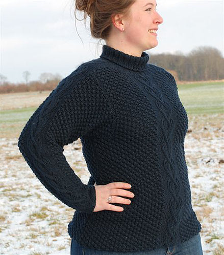 Aran Big Blue (Merino Wool)