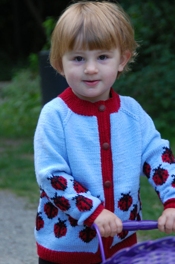 Lady Birds Cardigan - DesignEtte