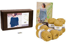 Load image into Gallery viewer, Midnight Blues Knitting Kit (Merino wool) - DesignEtte
