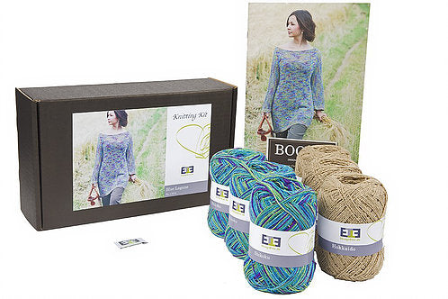 Blue Lagoon Knitting Kit - DesignEtte