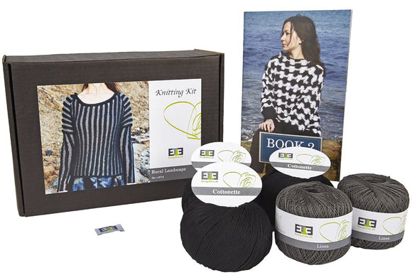 Rural Landscape Linen/Cotton Knitting Kit