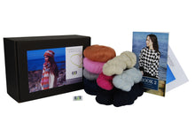 Load image into Gallery viewer, Margaret Hat & Scarf Crochet Kit - DesignEtte