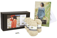 Load image into Gallery viewer, Rubia Winter Leaf Knitting Kit - DesignEtte