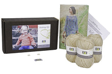 Load image into Gallery viewer, Rubia Baby Leaf Knitting Kit - DesignEtte