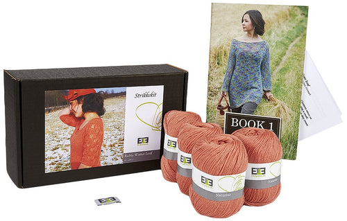 Rubia Winter Leaf Knitting Kit - DesignEtte