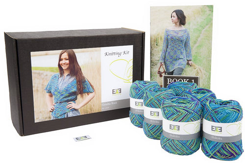 Geisha Knit Knitting Kit - DesignEtte