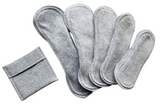 HEATHER GREY SET OF 5 (XS-XL) ALL 5 SIZES