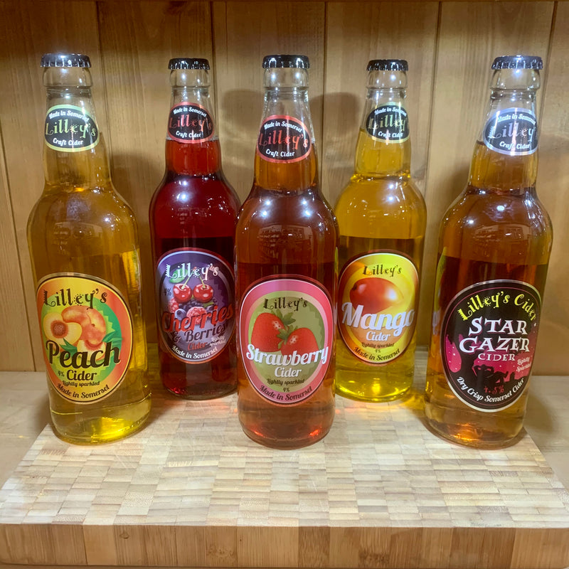 Lilley's Cider 500ml Bottles