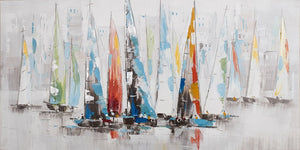 Painting Sailing 70x140cm