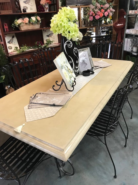 7 pce GRC Tuscan Table Setting 210cm