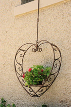 Load image into Gallery viewer, Heart Hanging Plant Holder Small