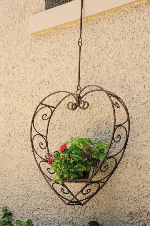 Heart Hanging Plant Holder Small