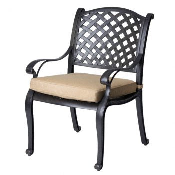 Nassau chair with cushion