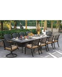 Nassau dining setting with Nassau deep seating in natural color cushion