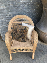 Load image into Gallery viewer, Chair Province Poly Wicker Weatherproof Outdoor Hampton Boho