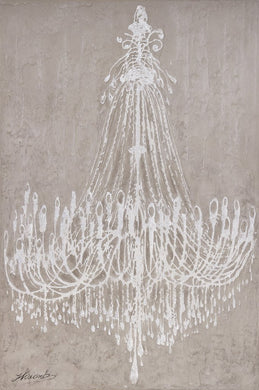 Painting Chandelier 100 X 150cm