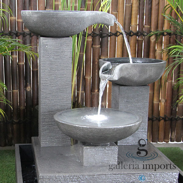 TRIO BOWL FOUNTAIN