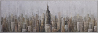Painting Towers 60x180cm