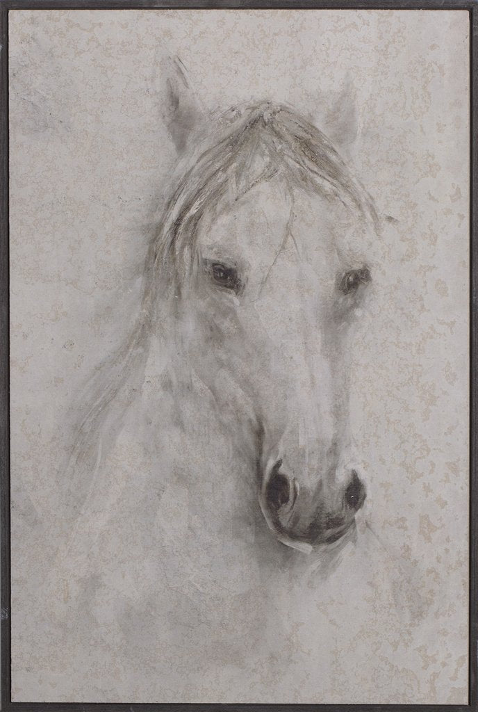 A PAINTING HORSE 60x90cm