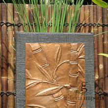 Load image into Gallery viewer, BAMBOO COPPER WALL FOUNTAIN