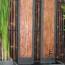 Load image into Gallery viewer, TWIN TOWER BAMBOO WALL FOUNTAIN