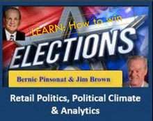 Load image into Gallery viewer, ElectionsWin.com: Retail Politics, Political Climate & Analytics: Completed