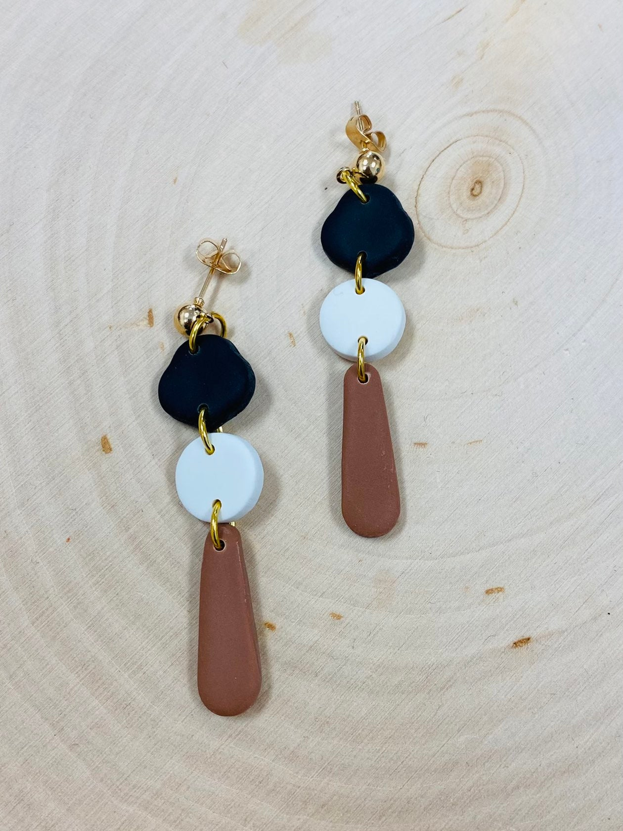 Natural Earth Clay Earrings!