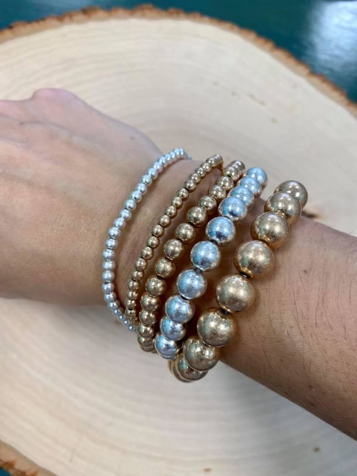 5 Pack Stack Bracelets - Cozy Calla Lily Boutique