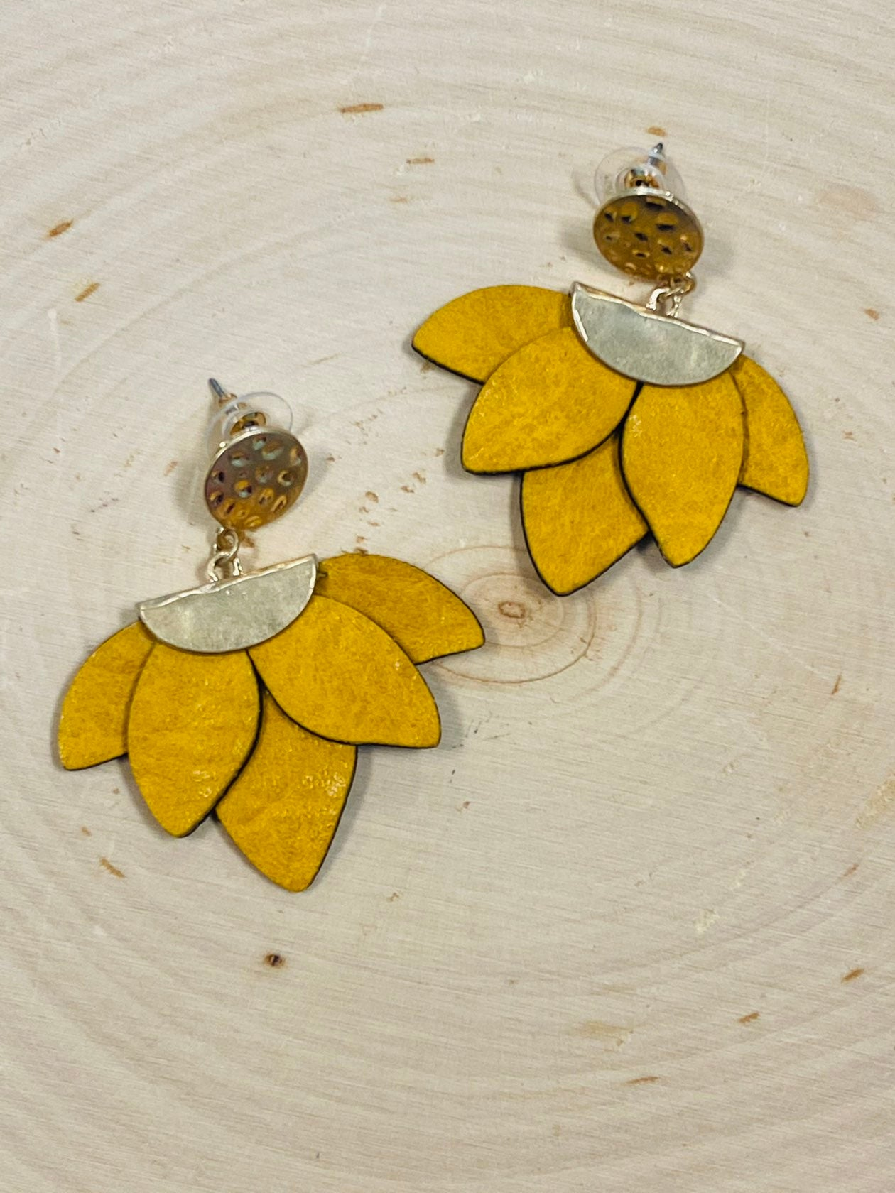 Sunshine Floral Earrings