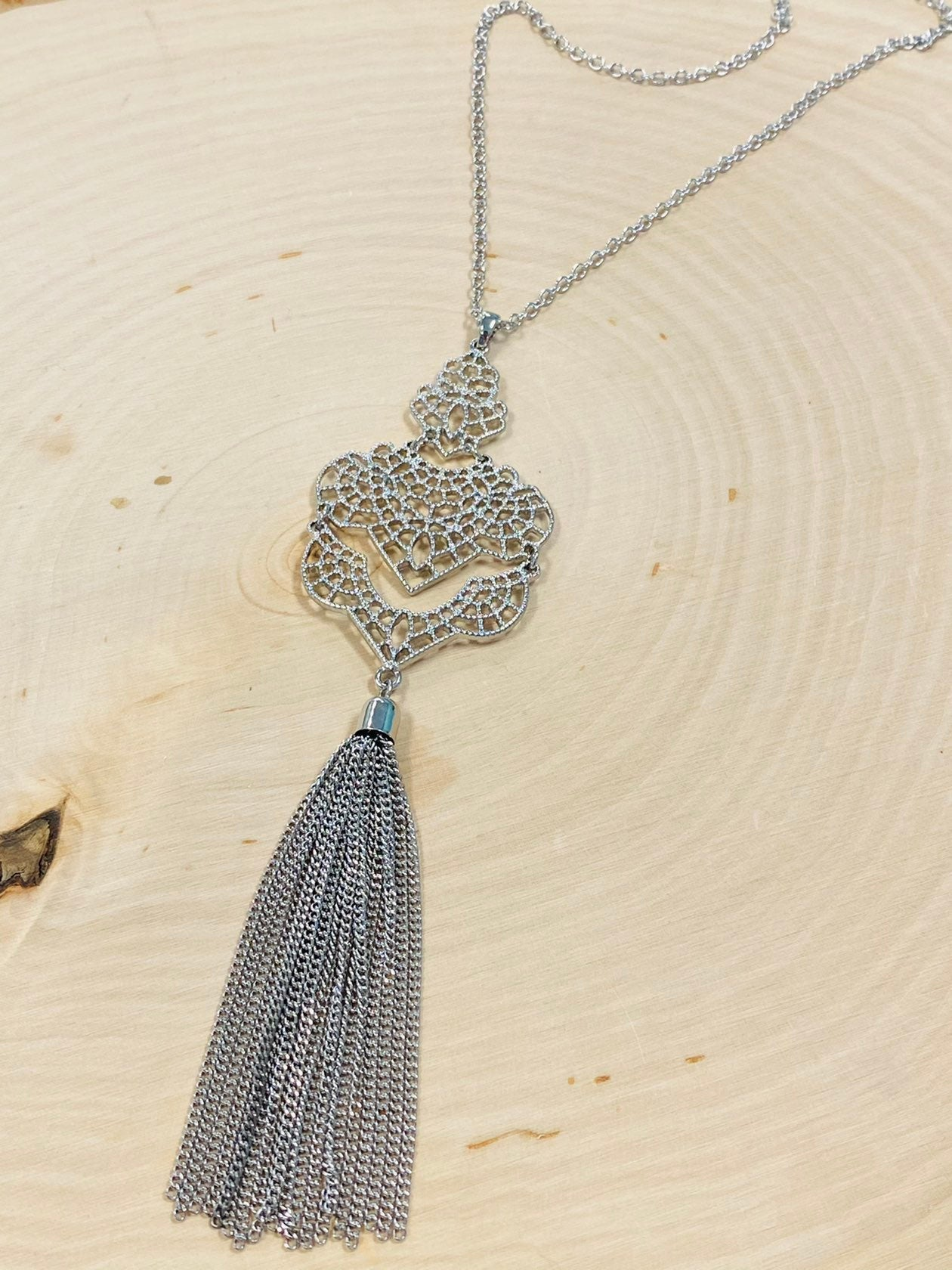 Timeless Tassel Necklace