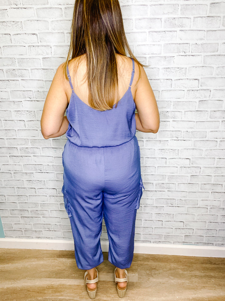Skies Are Blue Jumpsuit