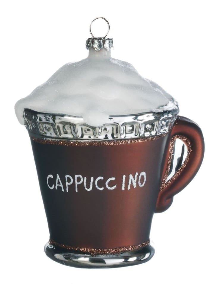 Cappuccino Ornament - Cozy Calla Lily Boutique