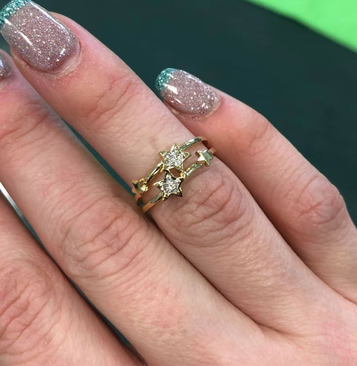 Golden Star Ring - Cozy Calla Lily Boutique