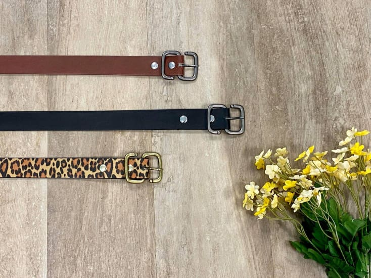 Leatherette Belts - Cozy Calla Lily Boutique