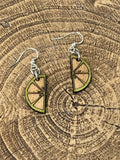 Lime Wedge Earrings - Cozy Calla Lily Boutique