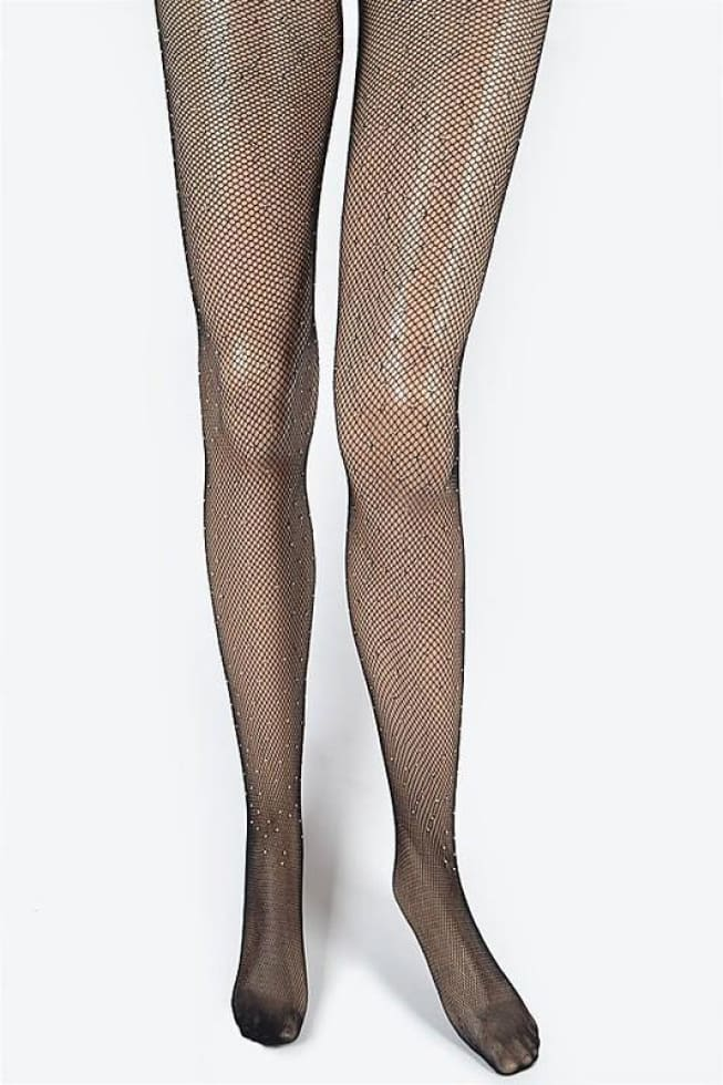 Mesh Beaded Stocking - Cozy Calla Lily Boutique