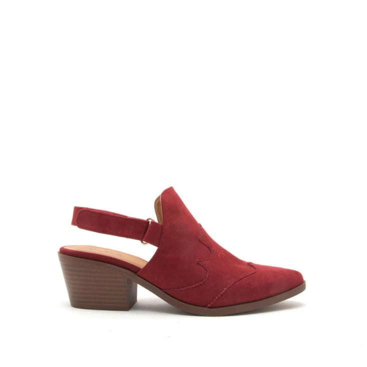 Montana Red Mule Slingback - Cozy Calla Lily Boutique